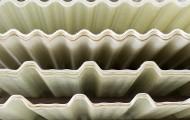 Translúcidas poliéster y policarbonato